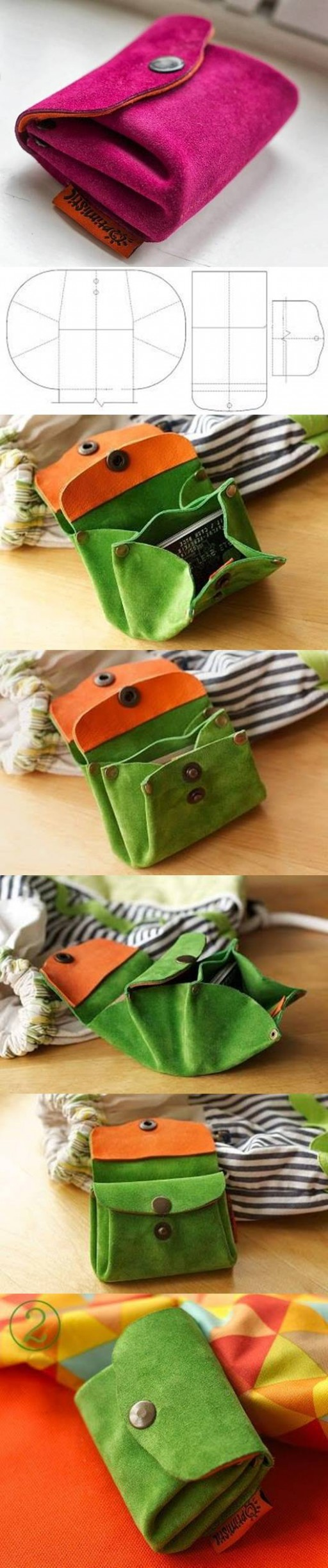 How to make Plump Purse DIY tutorial instructions