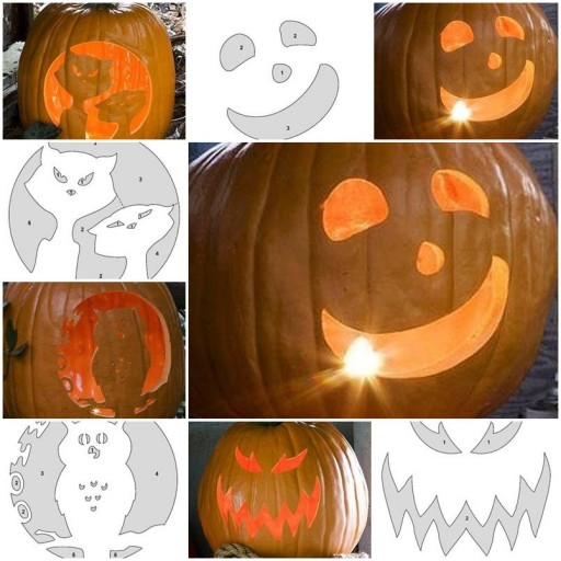 How to make Pumpkin Carving Patterns DIY tutorial instructions thumb