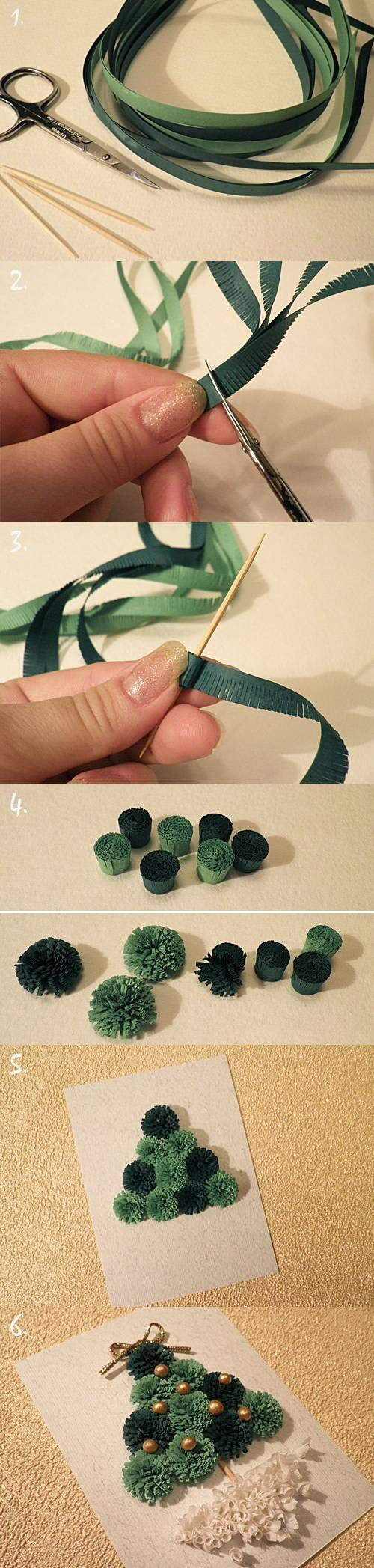 How To Make Quilled Christmas