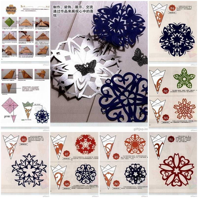 Paper Cutting Designs Patterns Step By Step