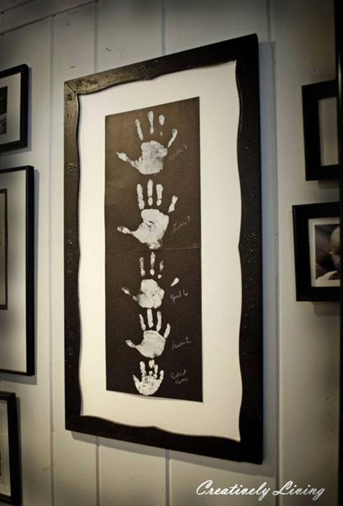 How to make creative family wall arts step by step DIY tutorial instructions