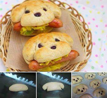 How to make cute hot dogs step by step DIY tutorial instructions