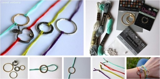 How to make cute unique bracelets step by step DIY tutorial instructions