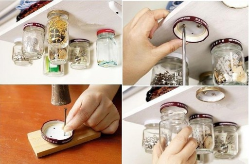 How to make glass jar storage step by step DIY tutorial instructions