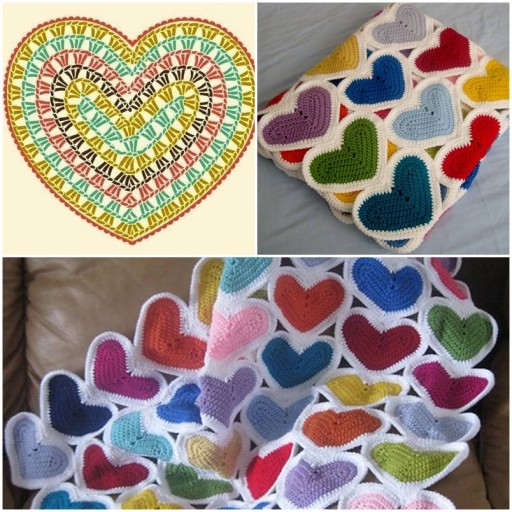 How to make handmade Heart custom Baby Blankets DIY tutorial instructions thumb
