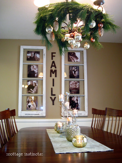How to recycle an old window into a family picture frame step by step DIY tutorial instructions