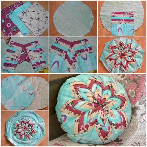 How to sew Decorative Pillows step by step DIY tutorial instructions How To Instructions