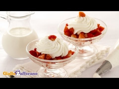 Culinary class – How to make whipped cream DIY tutorial step by step instructions