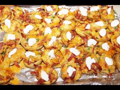Culinary class time – How To cook Turkey bacon potato poppers step by step DIY tutorial instructions