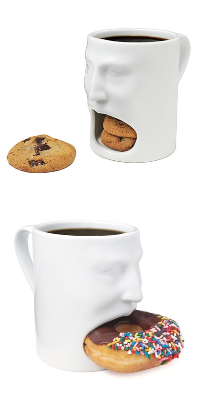 funny cookie face mugs