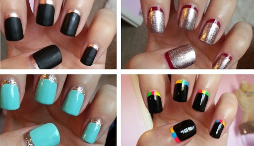 How to do 4 easy nail art manicure designs that you never ...