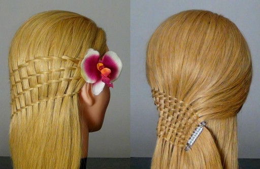 How To Do Waterfall Twist Hairstyles For Long Hair Tutorial Step By