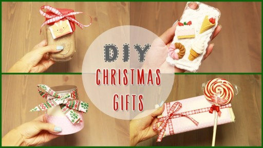How To Make 5 easy Christmas holiday gift ideas step by step DIY tutorial instructions