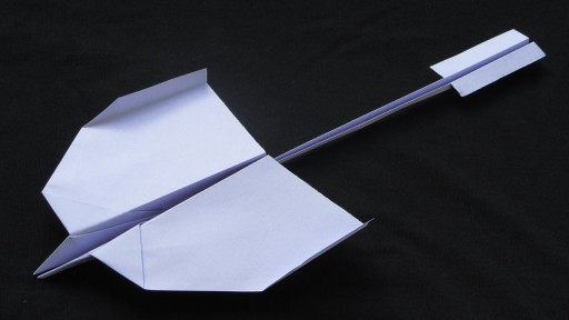 How to make awesome paper airplanes that fly Far step by step DIY tutorial instructions