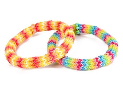 How to make Rainbow Loom hexafish wristbands DIY tutorial step by step instructions