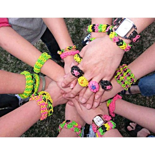 rainbow loom 3 How to make beautiful Rainbow Loom wristbands step by step DIY tutorial instructions