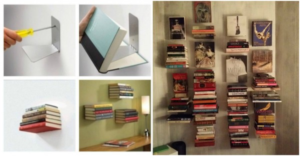 How To Install Invisible Floating Bookshelf 1