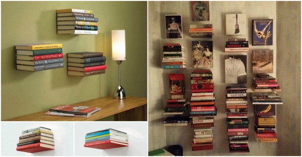 How To Install Invisible Floating Bookshelf