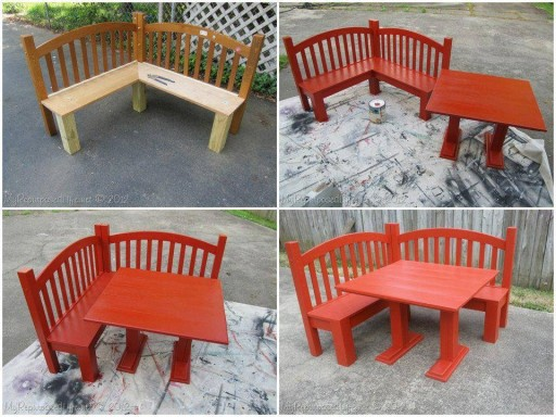 How to build Kids corner bench step by step DIY tutorial instructions