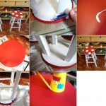 How to make Agaric Stool step by step DIY tutorial instructions thumb