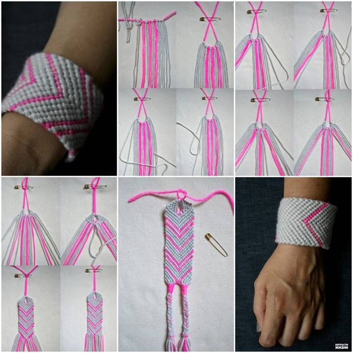 How To Make Baubles Weave Bracelet Step By DIY Tutorial Instructions Thumb