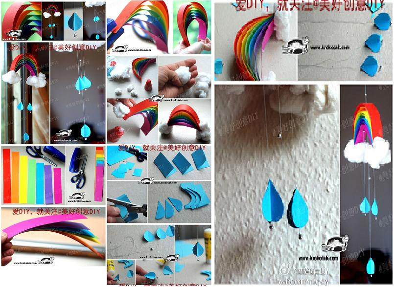 How to make beautiful rainbow mobile step by step diy tutorial how to make beautiful rainbow mobile step by step diy tutorial instructions thumb solutioingenieria Image collections