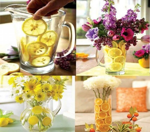 How to make beautiful fruit and flower arrangement step by step DIY tutorial instructions