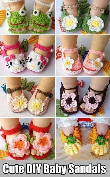 How to make cute baby sandal shoes step by step DIY tutorial instructions