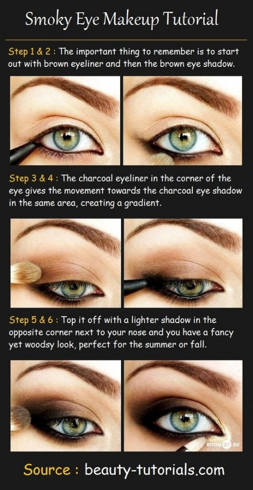 how to make pretty smokey eyes makeup step by step diy tutorial instructions how to instructions. Black Bedroom Furniture Sets. Home Design Ideas