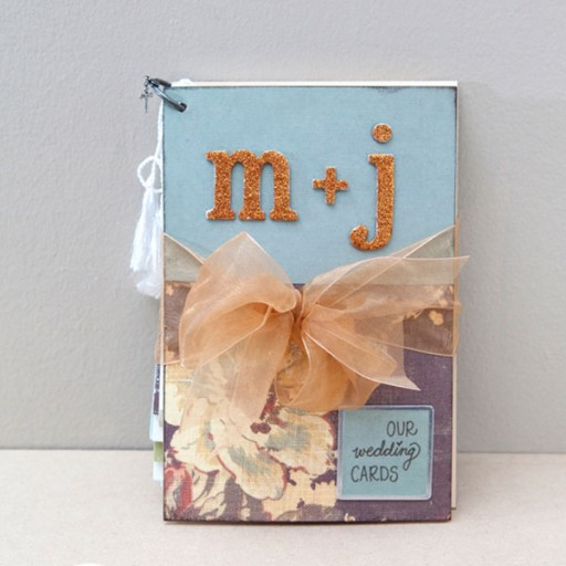 Diy Wedding Album Ideas: How To Make Romantic Mini-album Wedding Card Step By Step