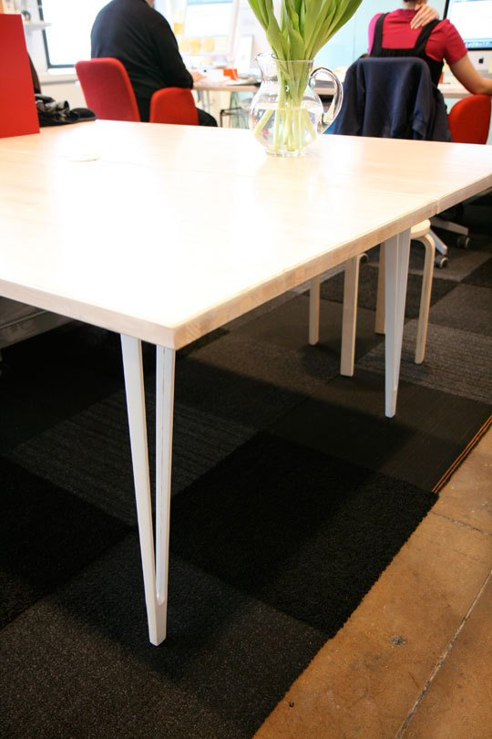 How to make simple solid custom table for less than 100 for Instructions on how to build a table