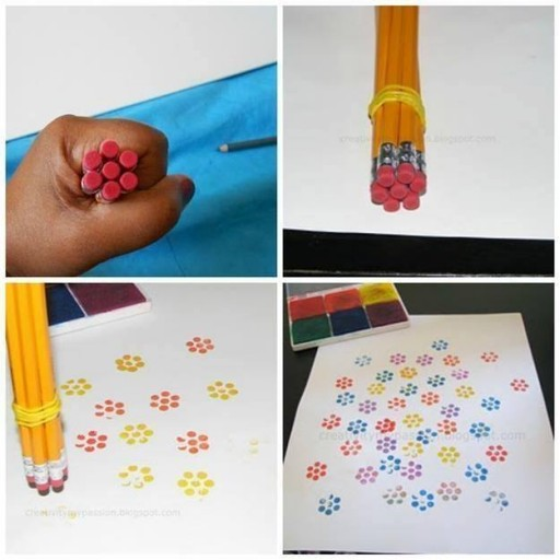 How to make simple stamp for kids