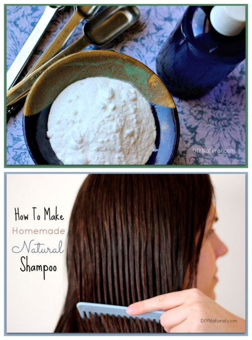 How to make your own hair care products - natural shampoo step by step DIY tutorial instructions
