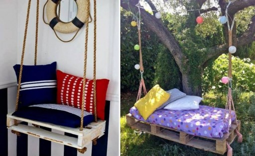 How to re-purpose pallets into simple sofa