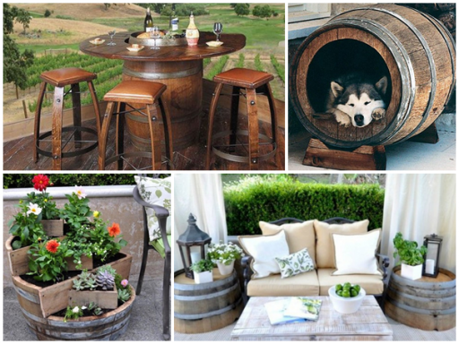 How to repurpose wine barrels - 17 useful and smart ways