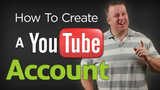 How to create a Youtube account step by step DIY tutorial instructions
