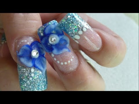 How to do beautiful winter roses 3d nail art manicure step by step how to do beautiful winter roses 3d nail art manicure step by step diy tutorial instructions prinsesfo Choice Image