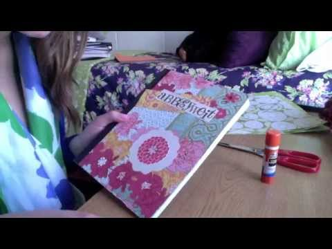 How to make your own day planner step by step DIY tutorial instructions