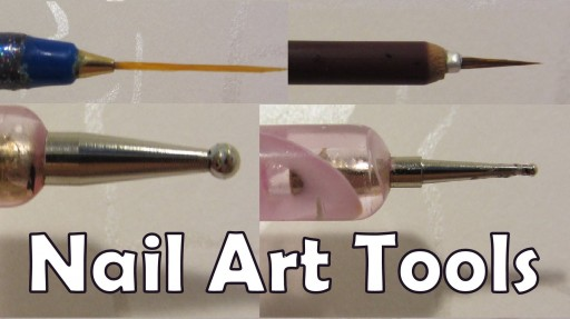 How to make your own nail art tools at home step by step DIY tutorial instructions