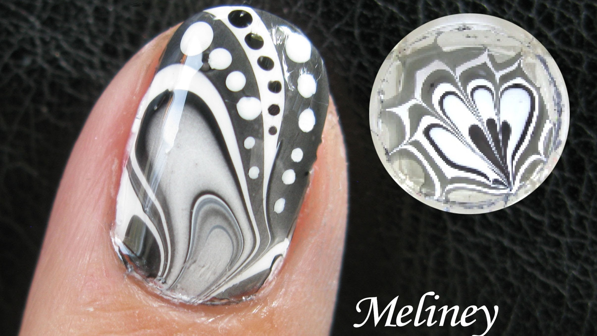 To Do Water Marble Nail Art At Home In Addition Water Marble Nail