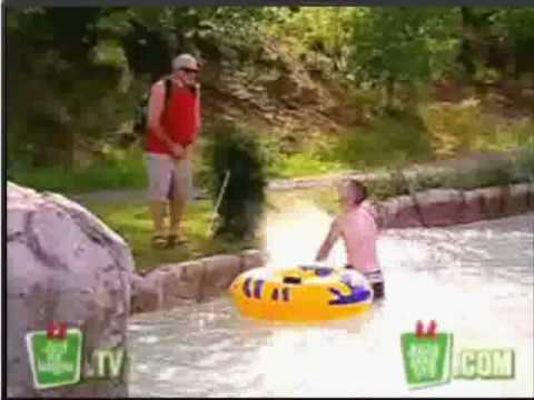 How to prank for fun in water park from just for laughs