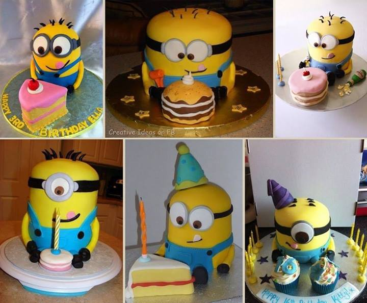 Cake Decorating Cl How To Make A Despicable Me Minons Cake Step By Step Diy Tutorial Instructions