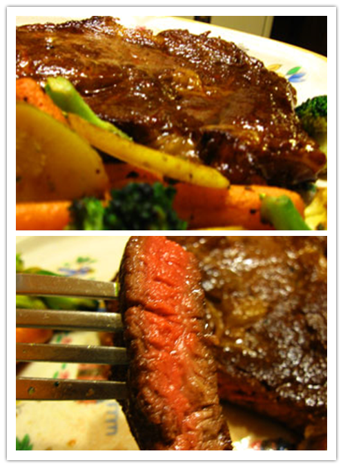 Cooking class - How to cook perfectly tender, juicy, and medium-rare steak step by step tutorial instructions and recipe