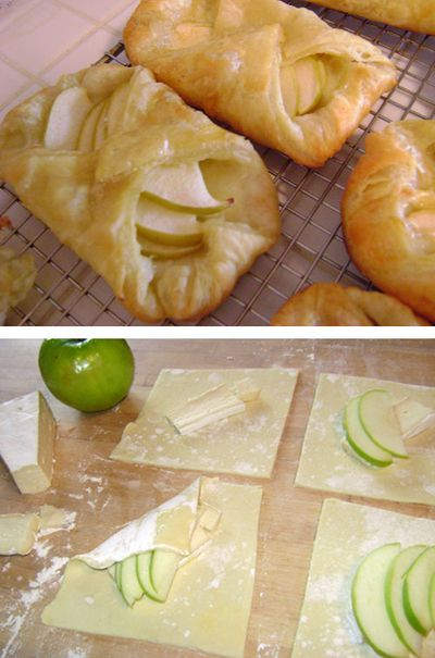 Culinary class - How to make delicious DIY brie and apple tarts step by step tutorial instructions