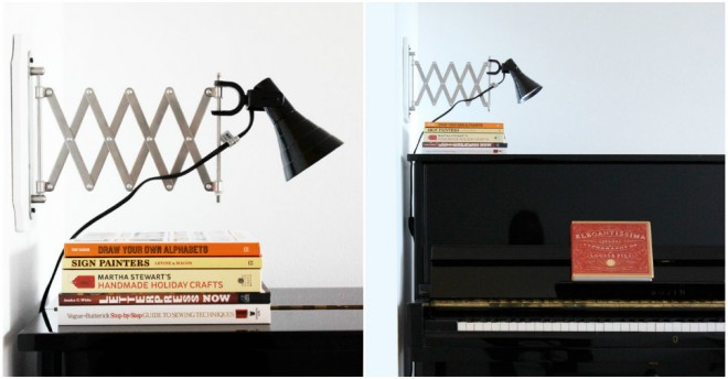 DIY Accordion Wall Lamps