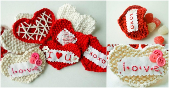 DIY sweetheart knit
