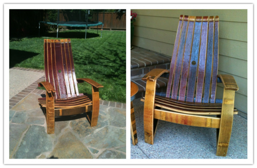 How to build beautiful wine barrel adirondack chair step by step DIY tutorial instructions