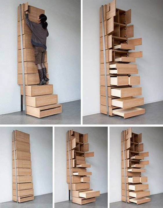 How To Build Efficient Diy Storage Staircase Step By Step