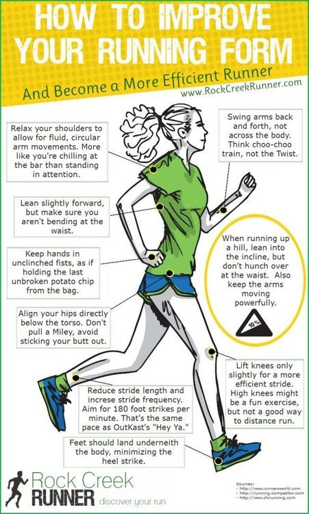 How to improve your running form to become a more efficient runner