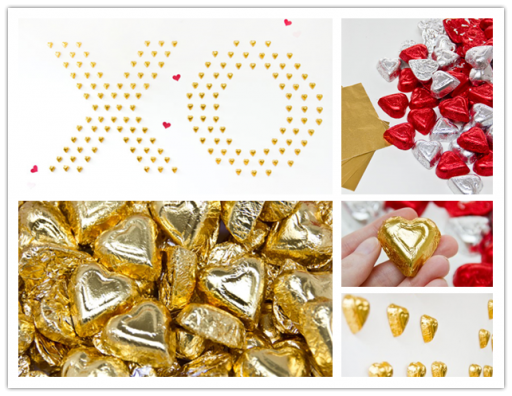 How to make DIY chocolate heart wall art decoration step by step tutorial instructions